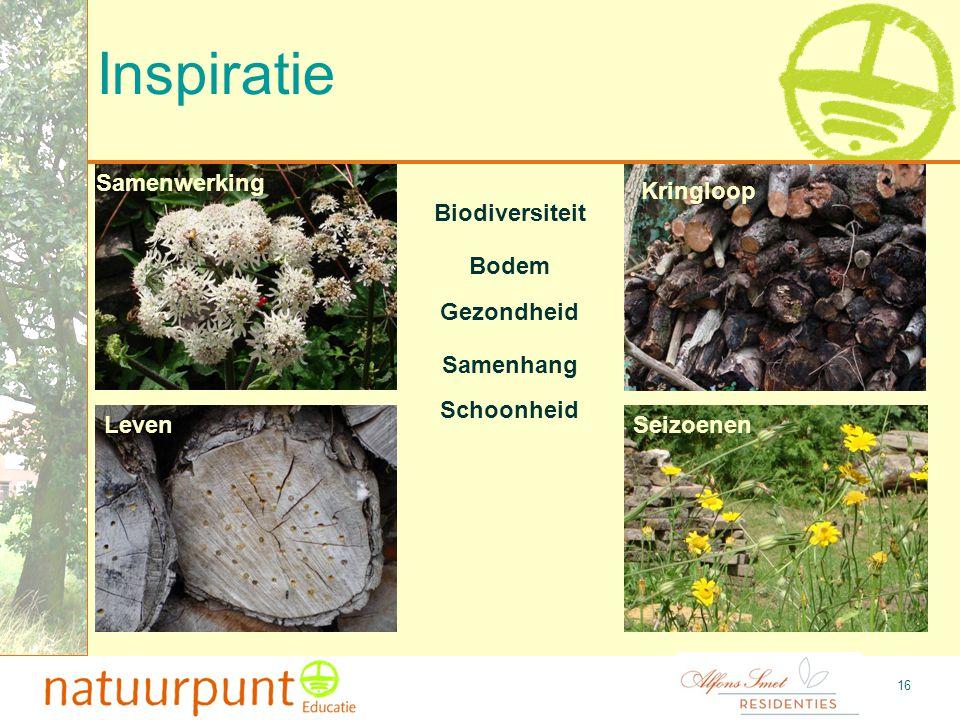 Inspiratie Samenwerking Kringloop Biodiversiteit Bodem Gezondheid