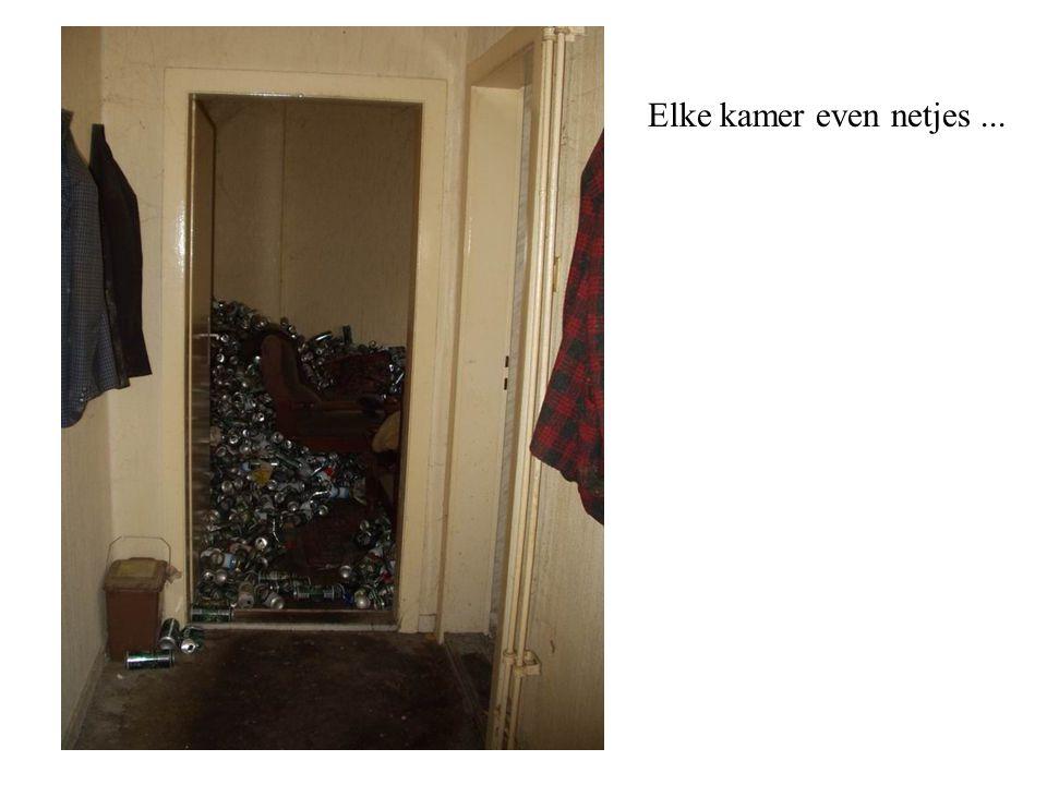 Elke kamer even netjes ...