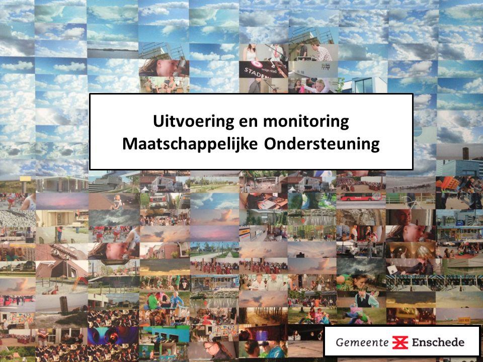 Uitvoering en monitoring Maatschappelijke Ondersteuning