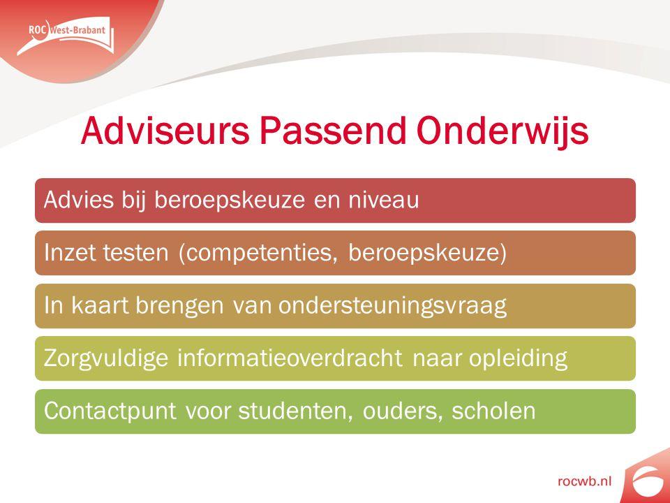 Adviseurs Passend Onderwijs