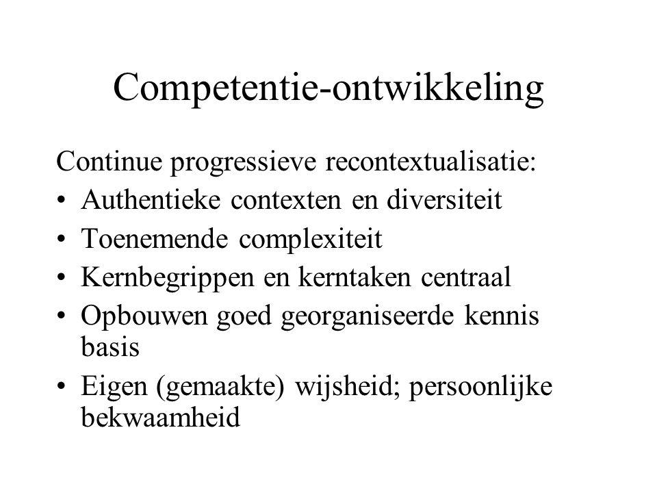 Competentie-ontwikkeling