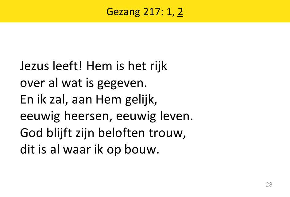Gezang 217: 1, 2