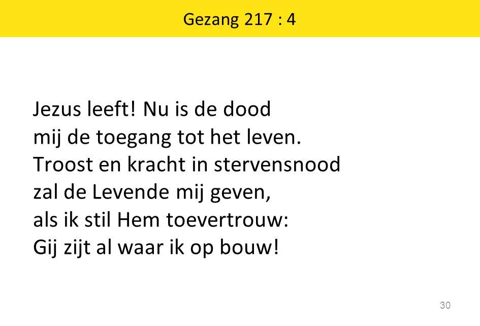 Gezang 217 : 4
