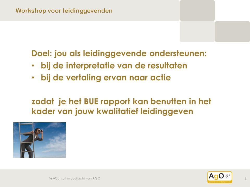 Workshop voor leidinggevenden