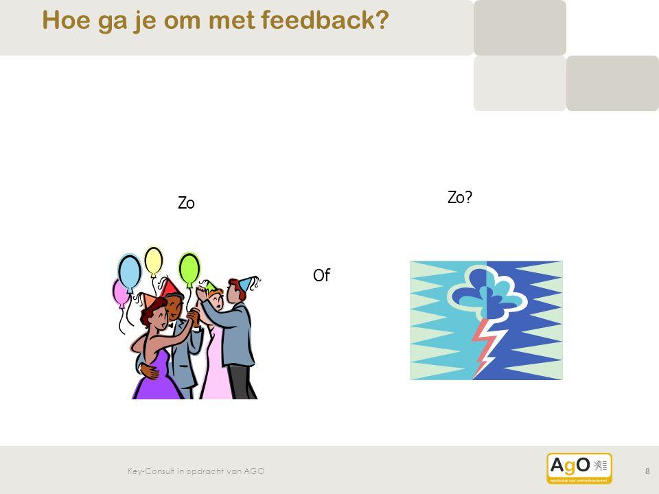 Hoe ga je om met feedback