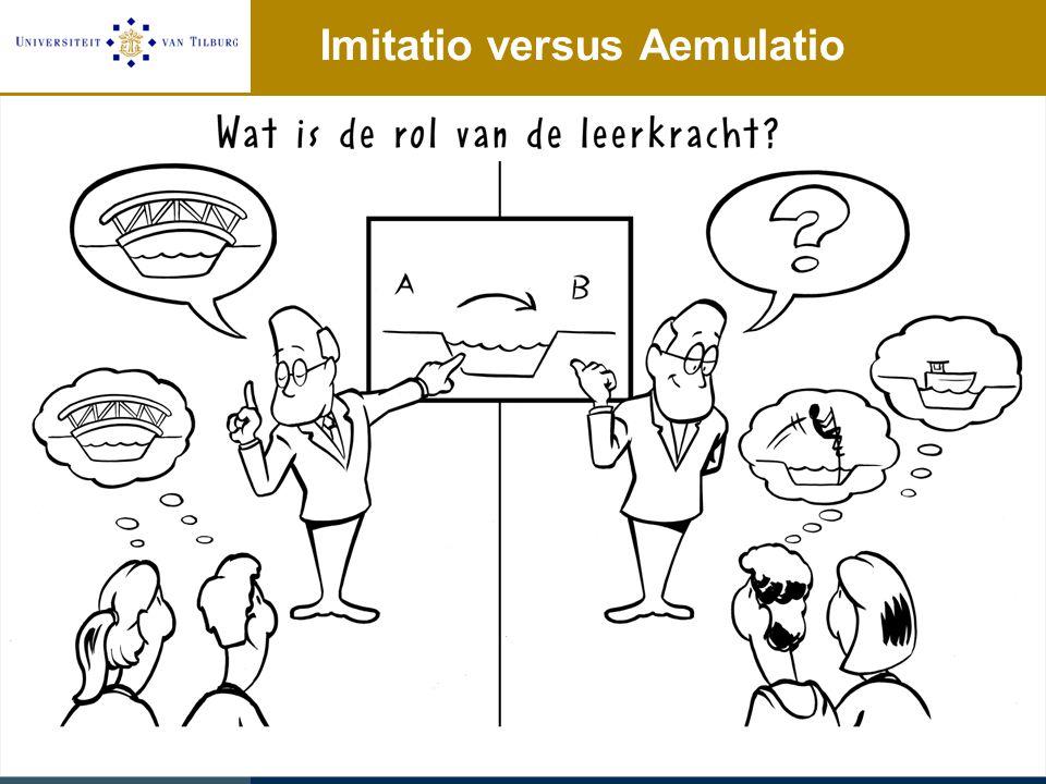 Imitatio versus Aemulatio