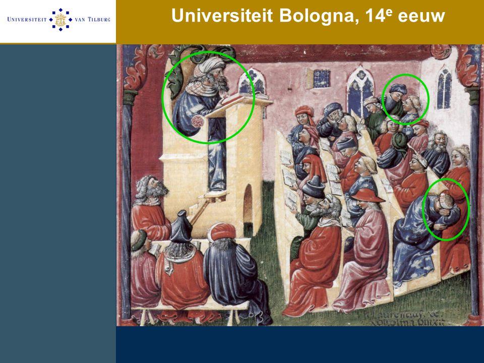 Universiteit Bologna, 14e eeuw