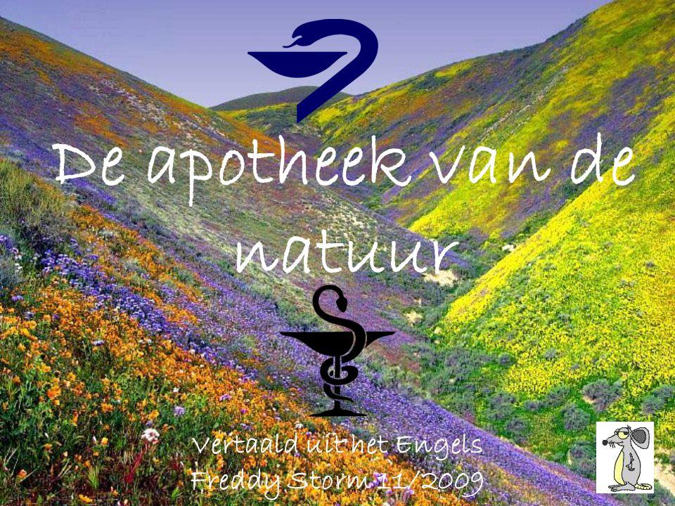 De apotheek van de natuur