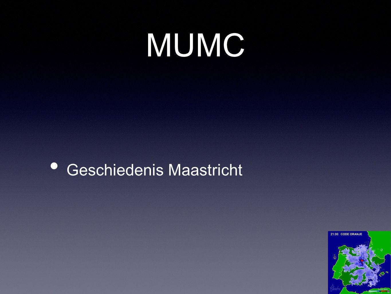 MUMC Geschiedenis Maastricht