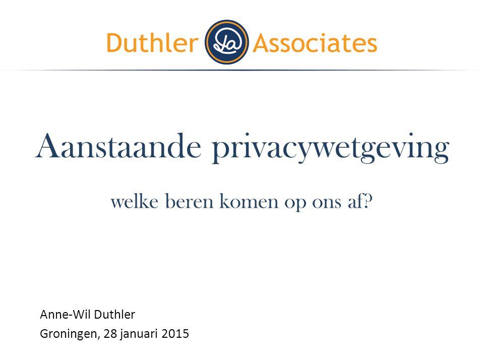 Aanstaande privacywetgeving