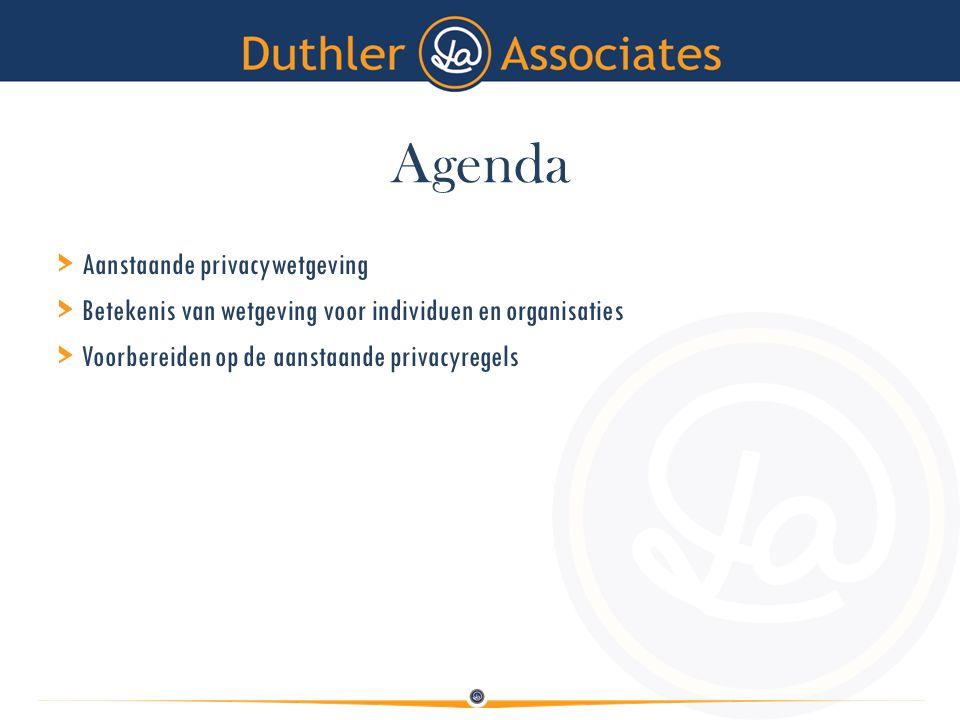 Agenda > Aanstaande privacywetgeving