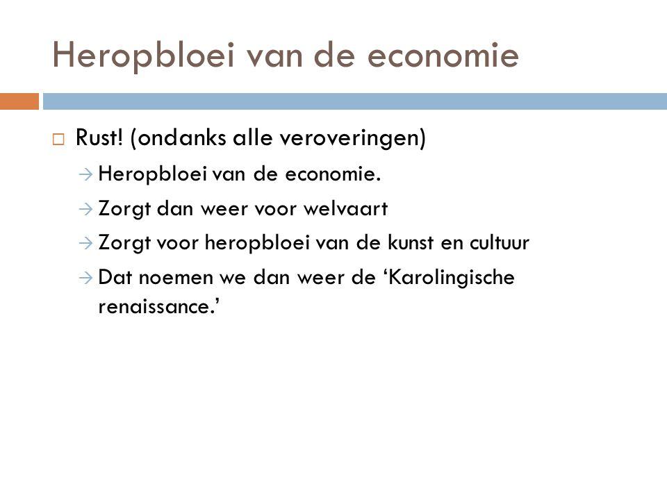 Heropbloei van de economie