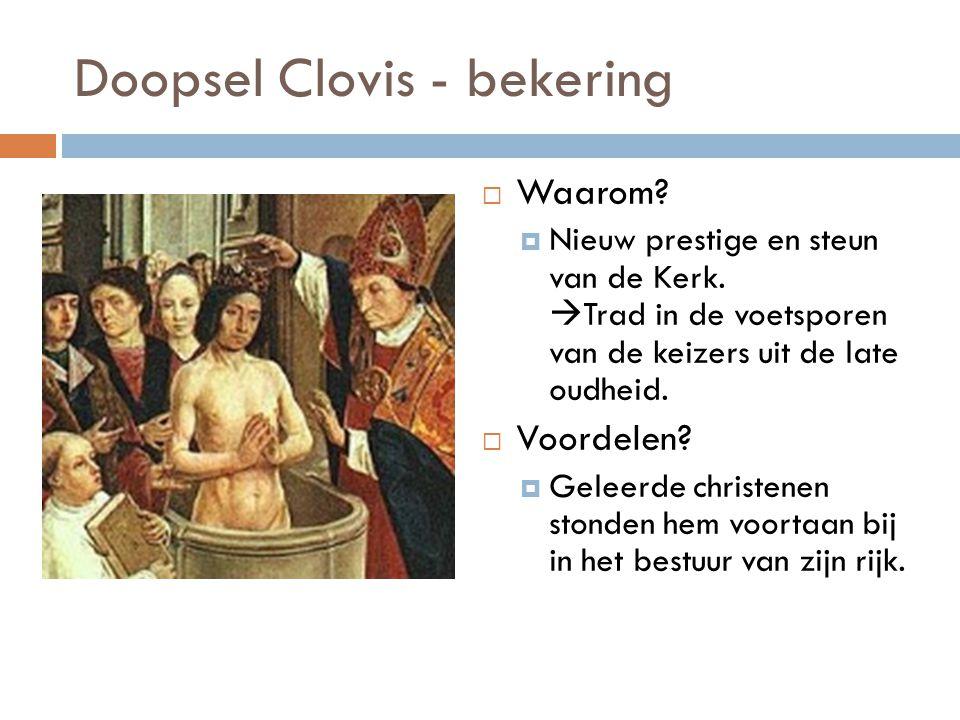 Doopsel Clovis - bekering