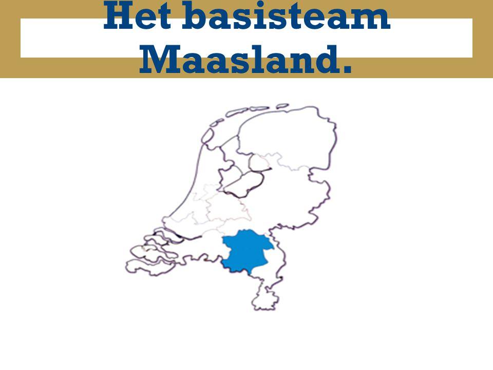 Het basisteam Maasland.