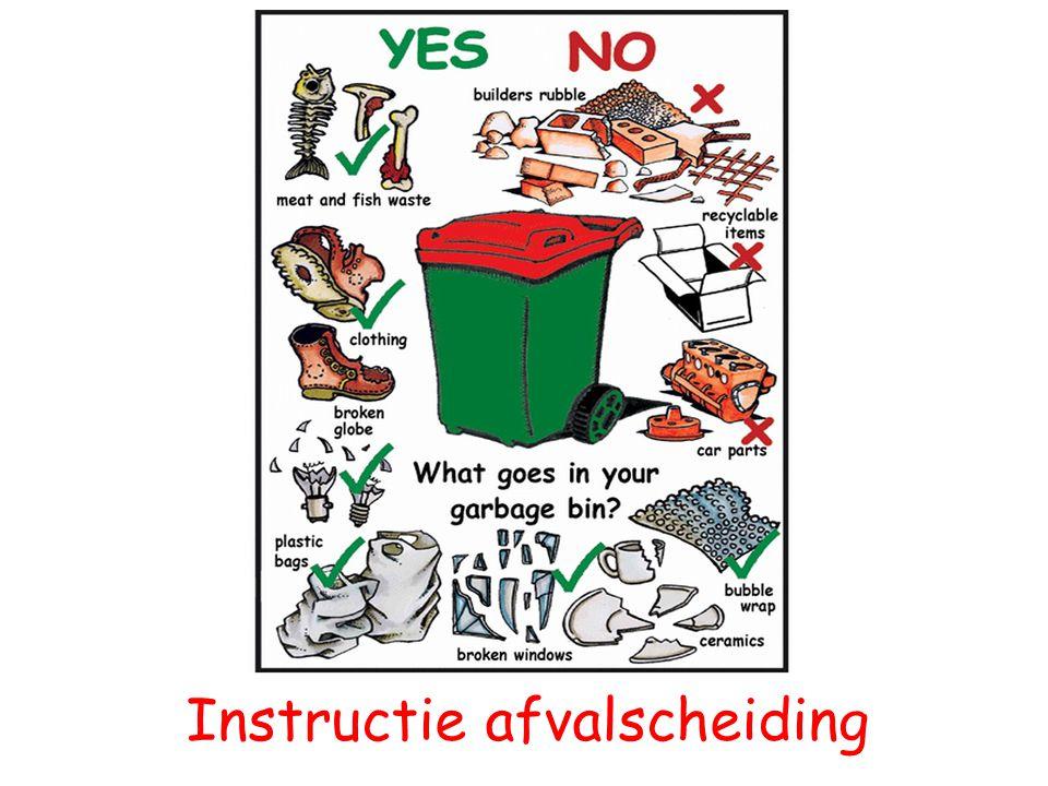 Instructie afvalscheiding