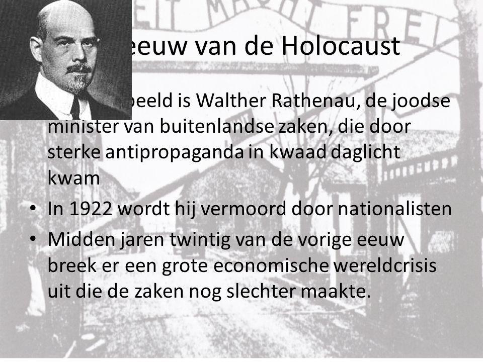 De eeuw van de Holocaust