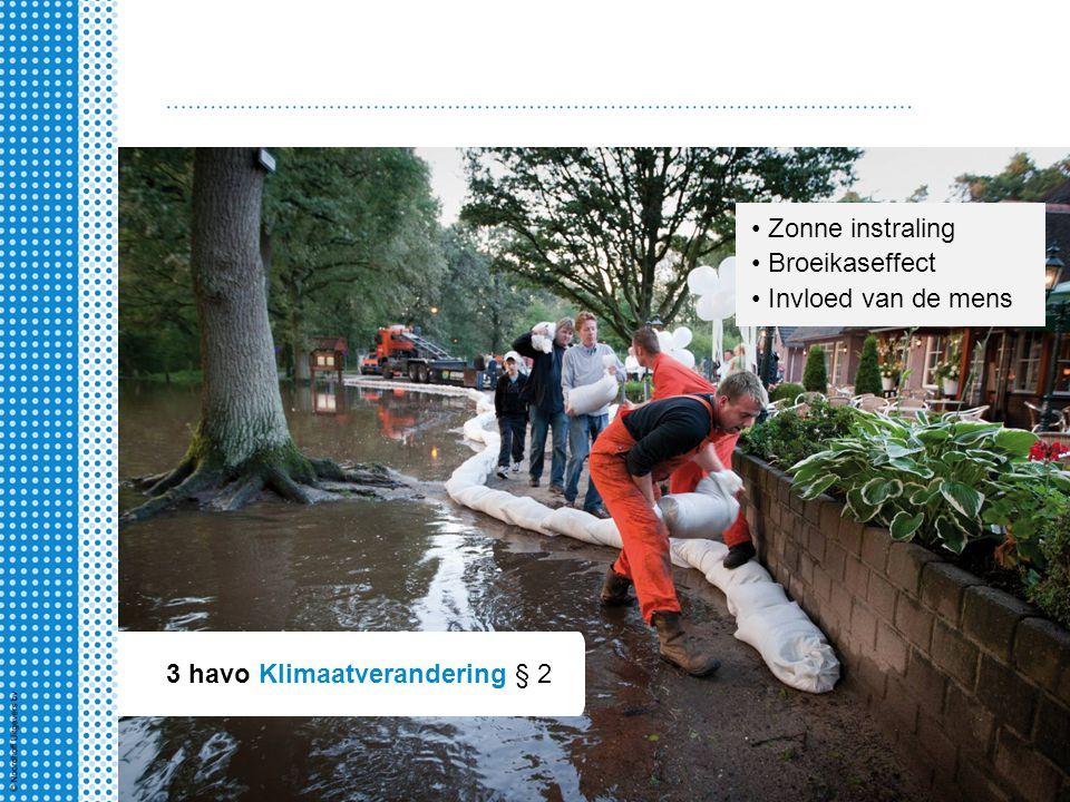 3 havo Klimaatverandering § 2