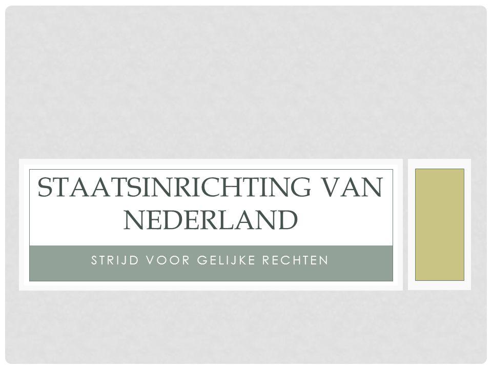 Staatsinrichting van Nederland