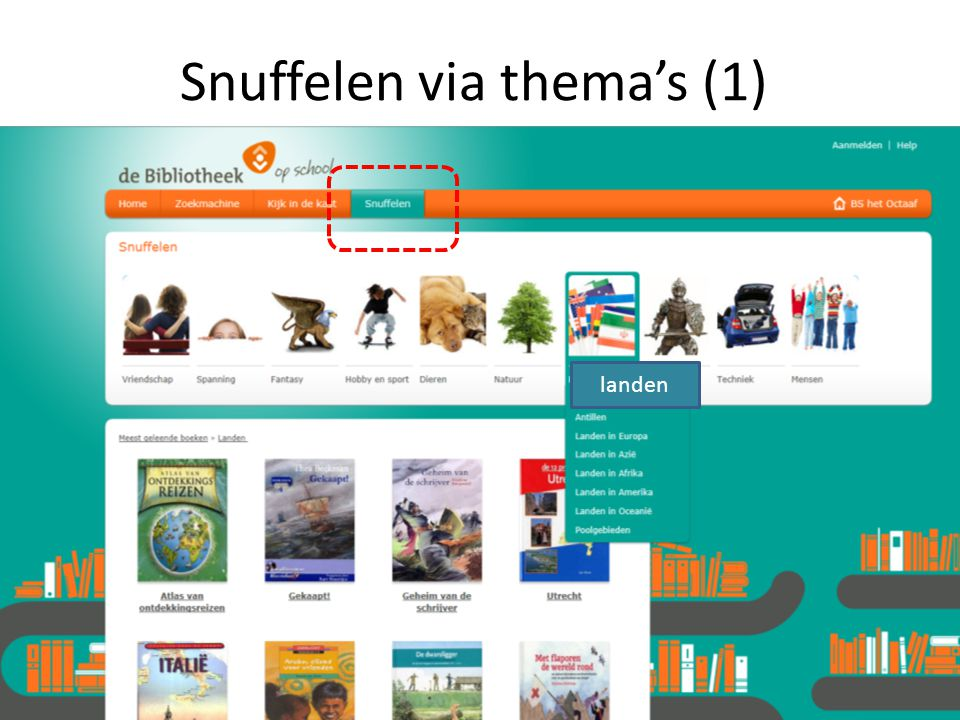 Snuffelen via thema's (1)
