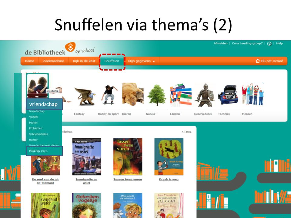 Snuffelen via thema's (2)