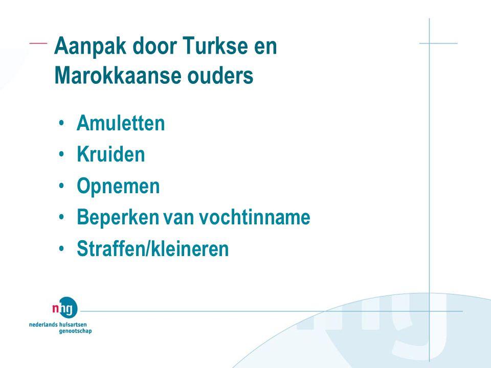 Aanpak door Turkse en Marokkaanse ouders