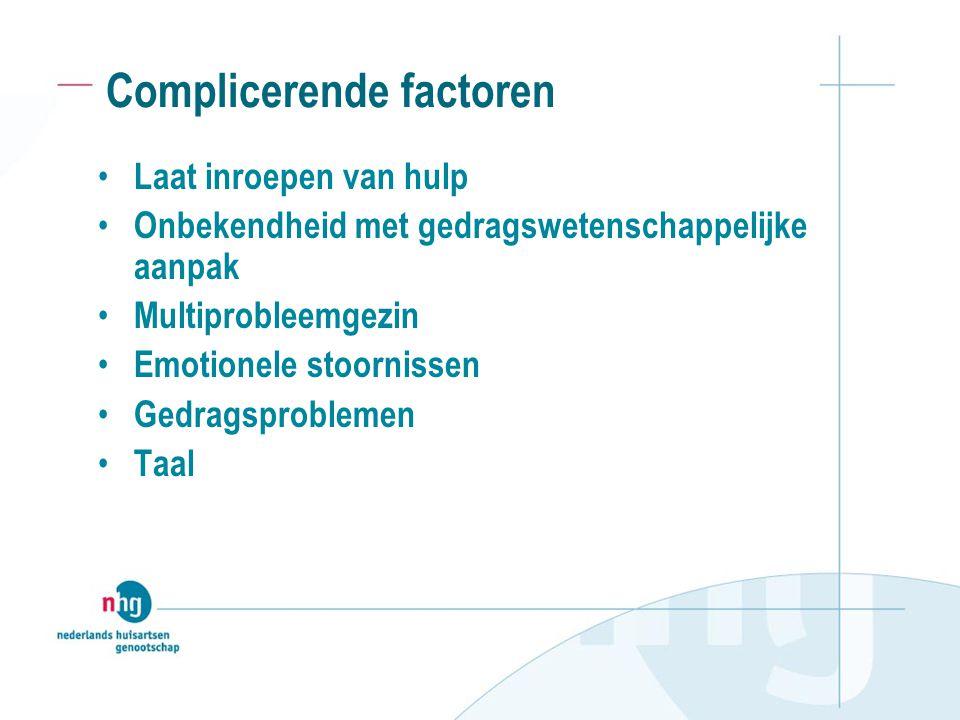 Complicerende factoren