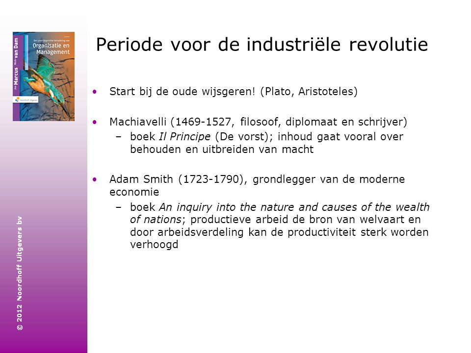 Periode voor de industriële revolutie
