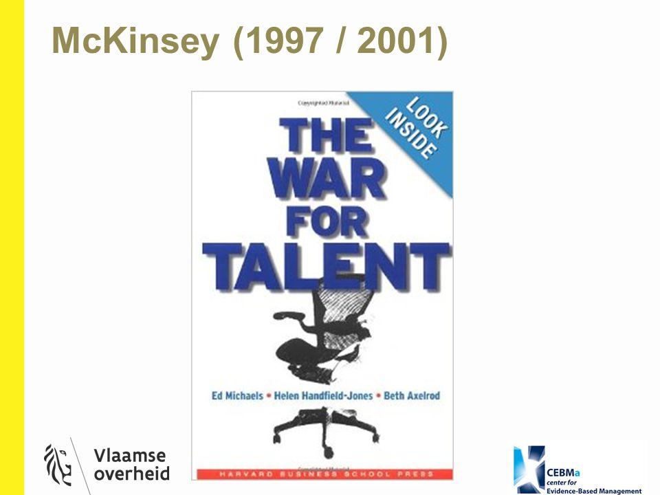 McKinsey (1997 / 2001)