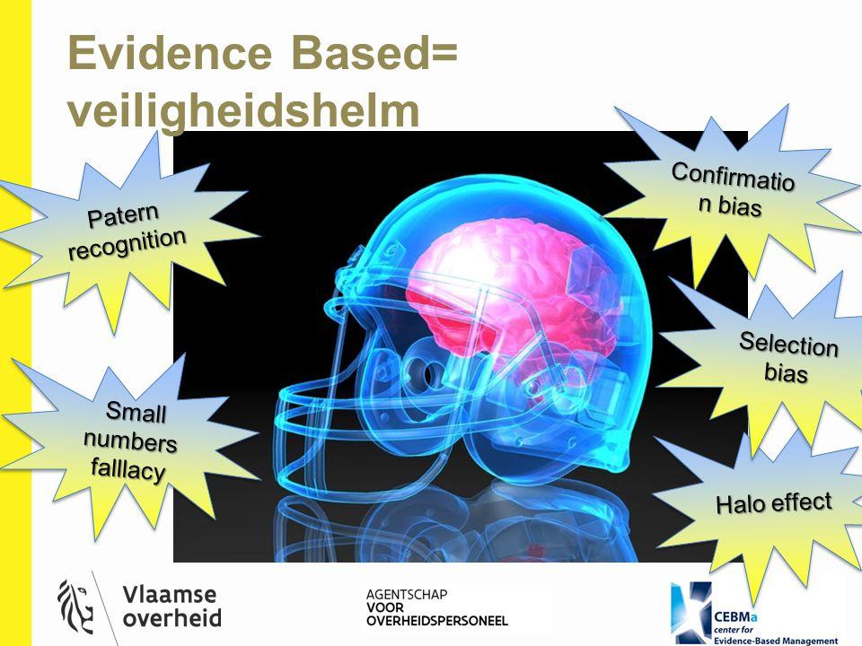 Evidence Based= veiligheidshelm