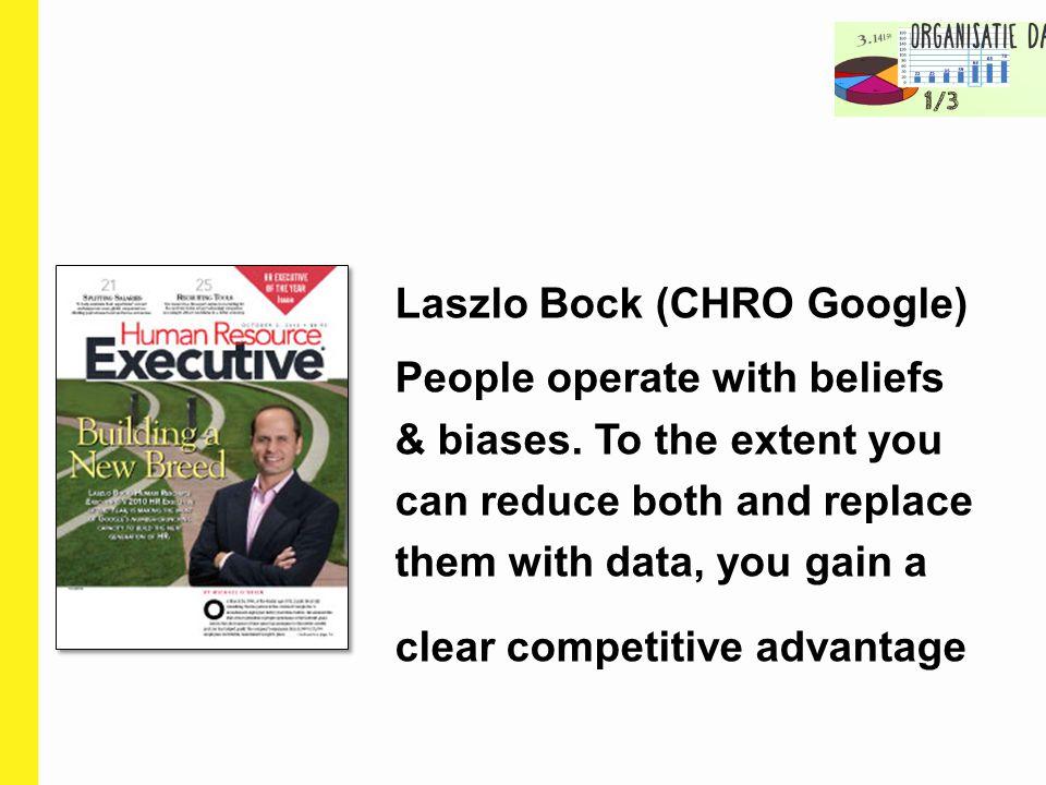 Laszlo Bock (CHRO Google)