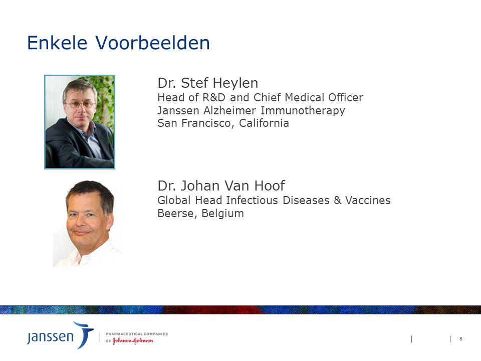 Enkele Voorbeelden Dr. Stef Heylen Dr. Johan Van Hoof