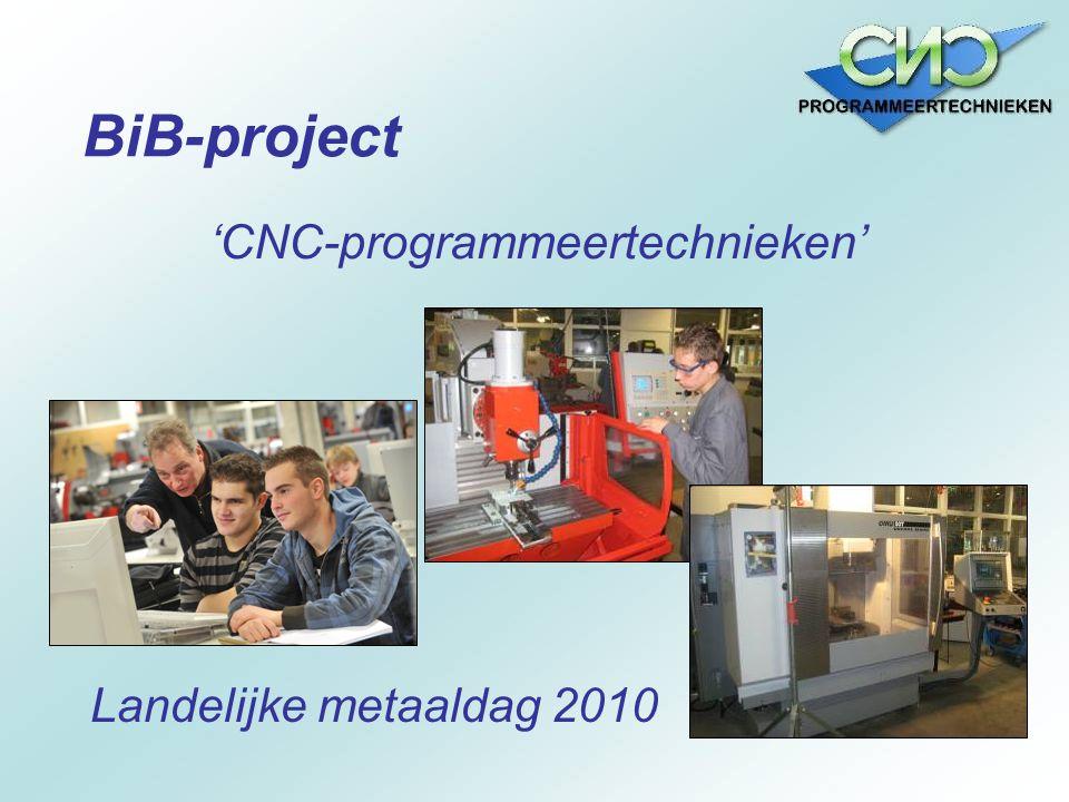 'CNC-programmeertechnieken'