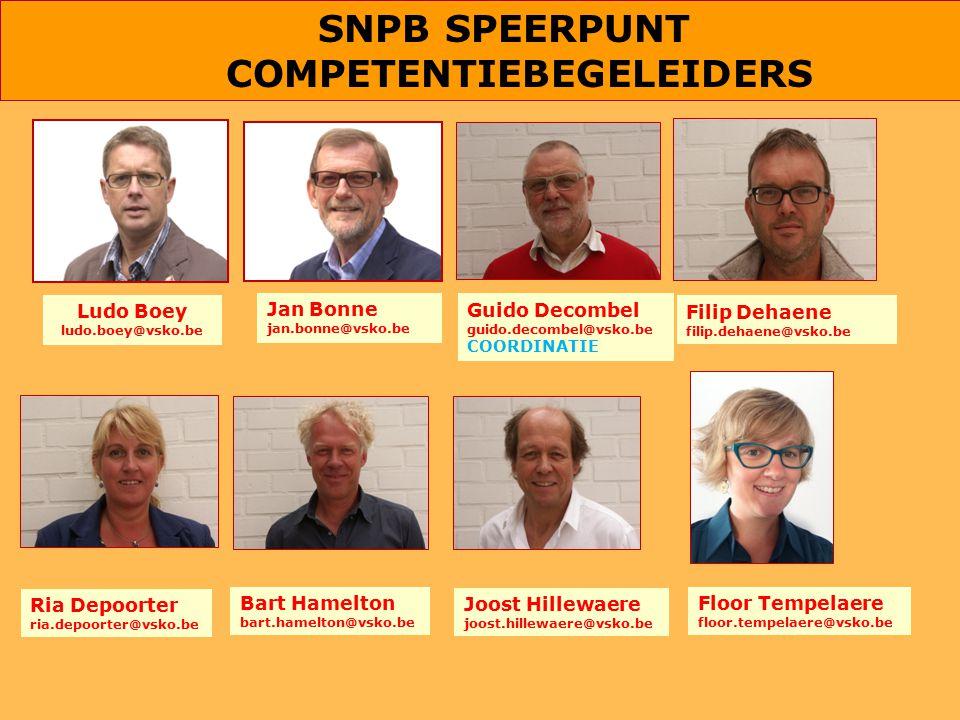 SNPB SPEERPUNT COMPETENTIEBEGELEIDERS