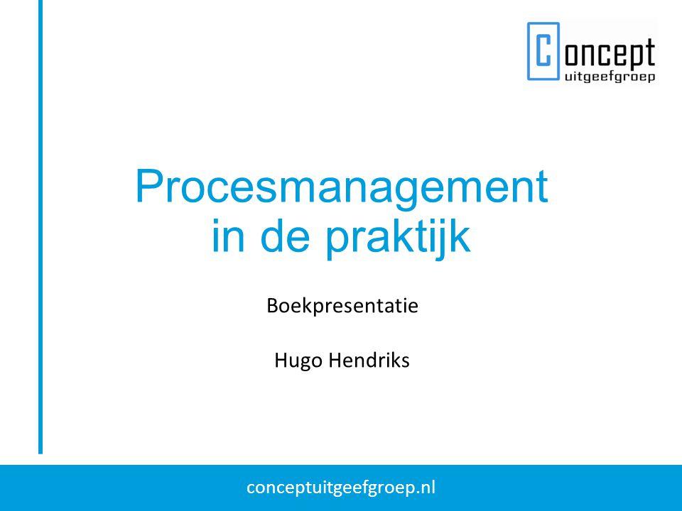 Procesmanagement in de praktijk Boekpresentatie Hugo Hendriks