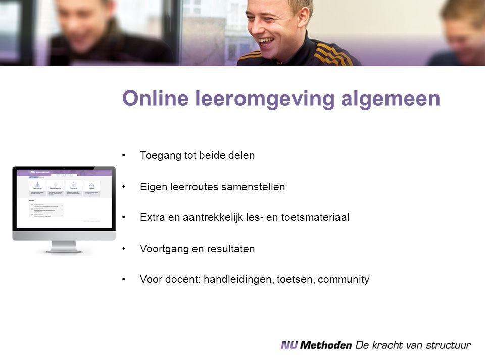 Online leeromgeving algemeen