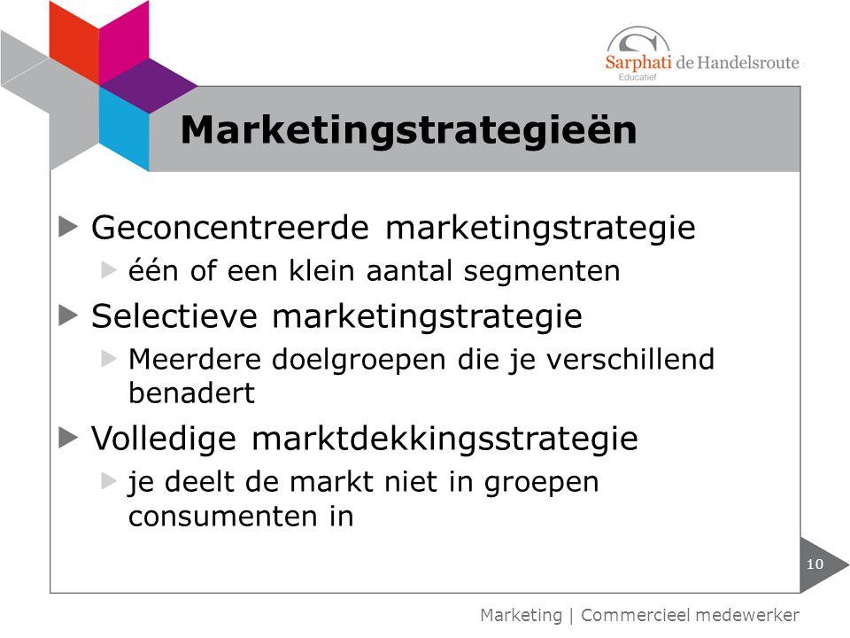 Marketingstrategieën