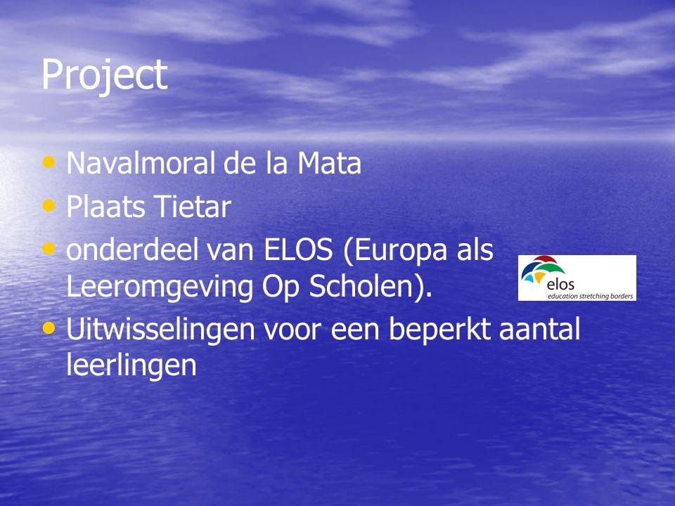 Project Navalmoral de la Mata Plaats Tietar