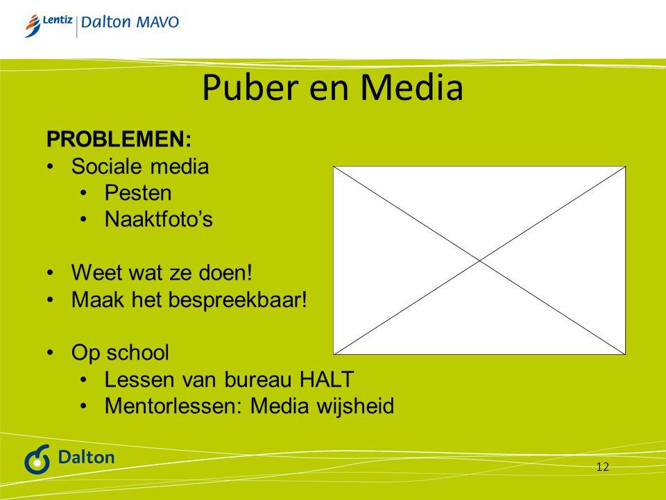 Puber en Media PROBLEMEN: Sociale media Pesten Naaktfoto's
