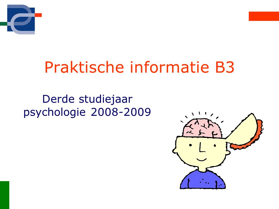 Praktische informatie B3