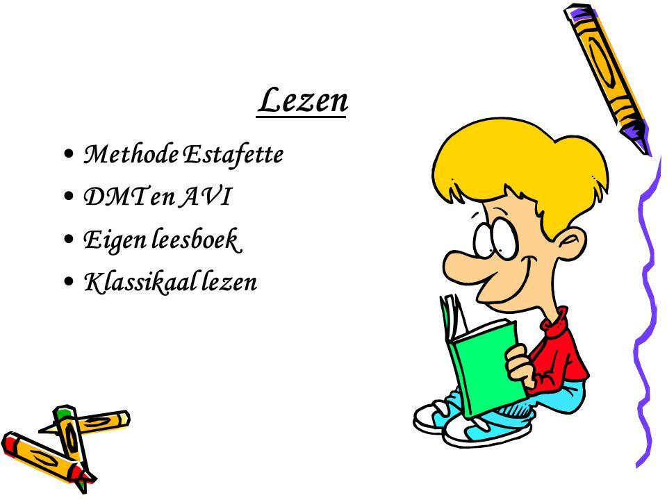 Lezen Methode Estafette DMT en AVI Eigen leesboek Klassikaal lezen