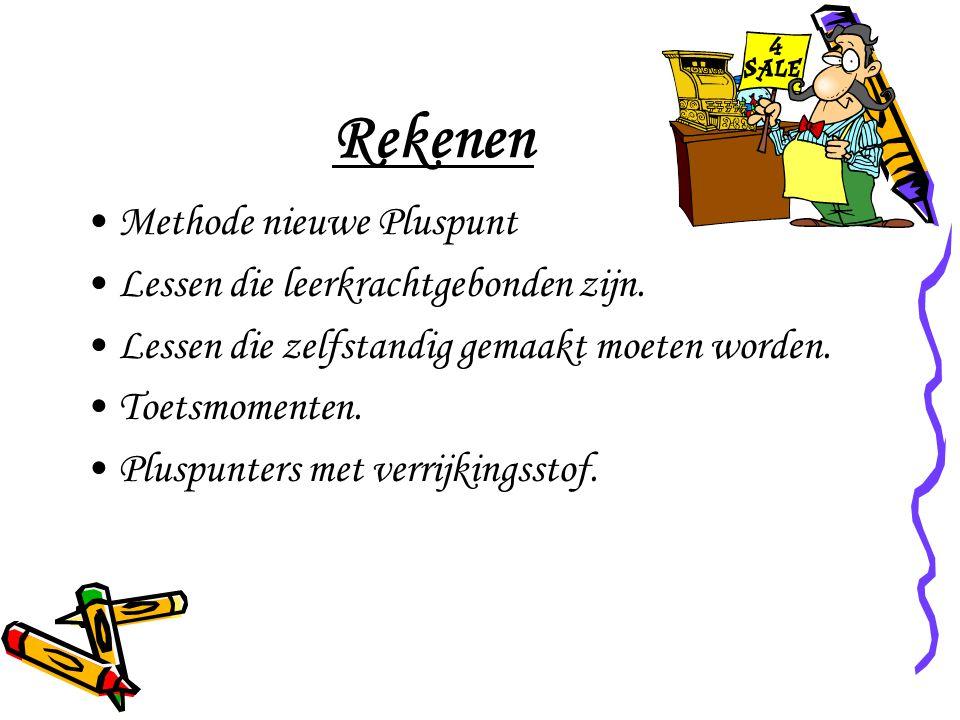 Rekenen Methode nieuwe Pluspunt Lessen die leerkrachtgebonden zijn.
