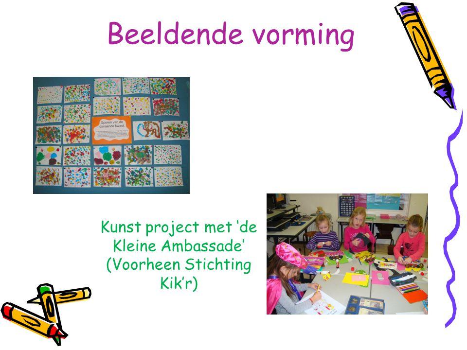 Kunst project met 'de Kleine Ambassade' (Voorheen Stichting Kik'r)