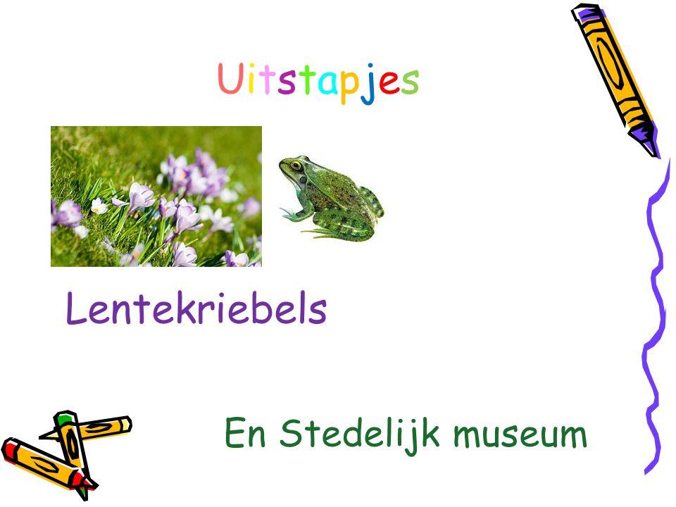 Uitstapjes Lentekriebels En Stedelijk museum