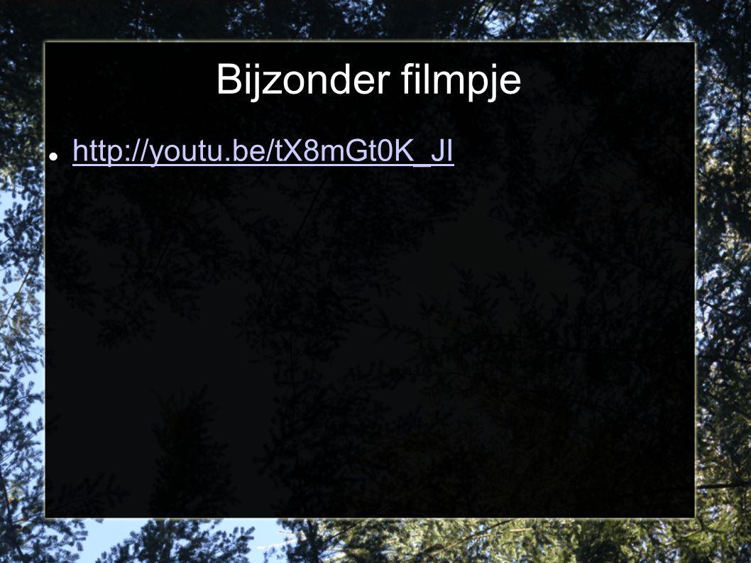 Bijzonder filmpje http://youtu.be/tX8mGt0K_JI