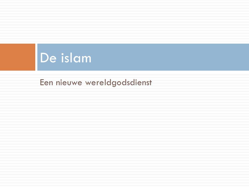 De islam Een nieuwe wereldgodsdienst