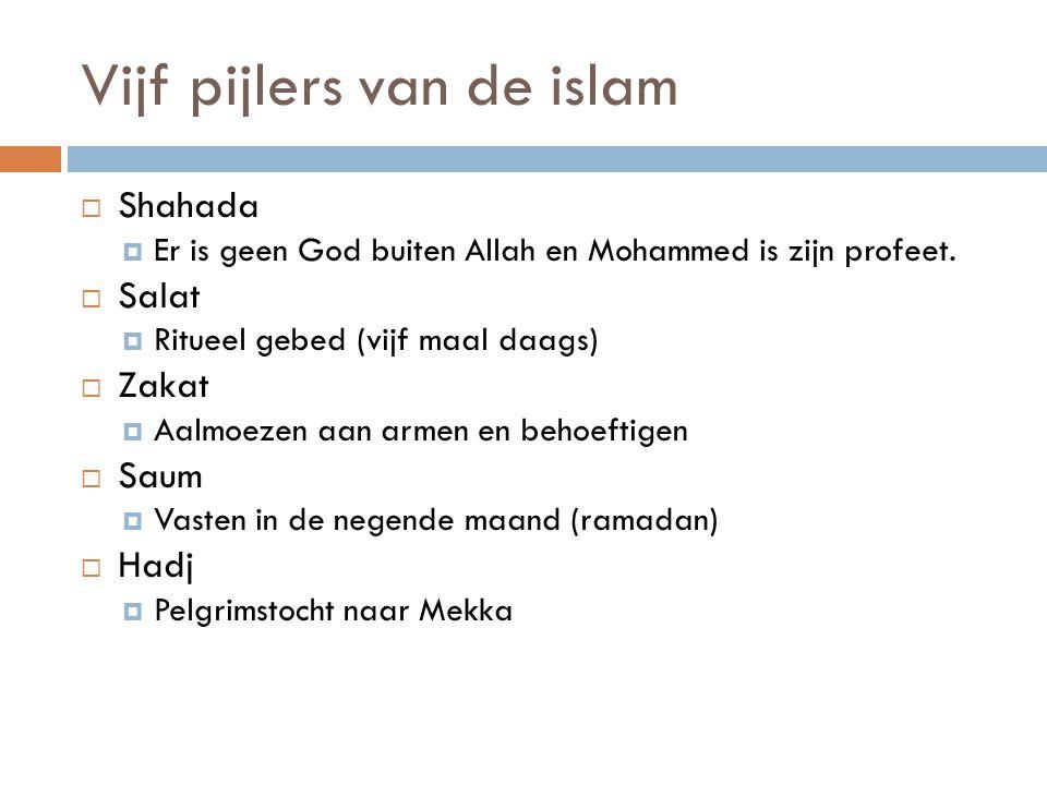 Vijf pijlers van de islam