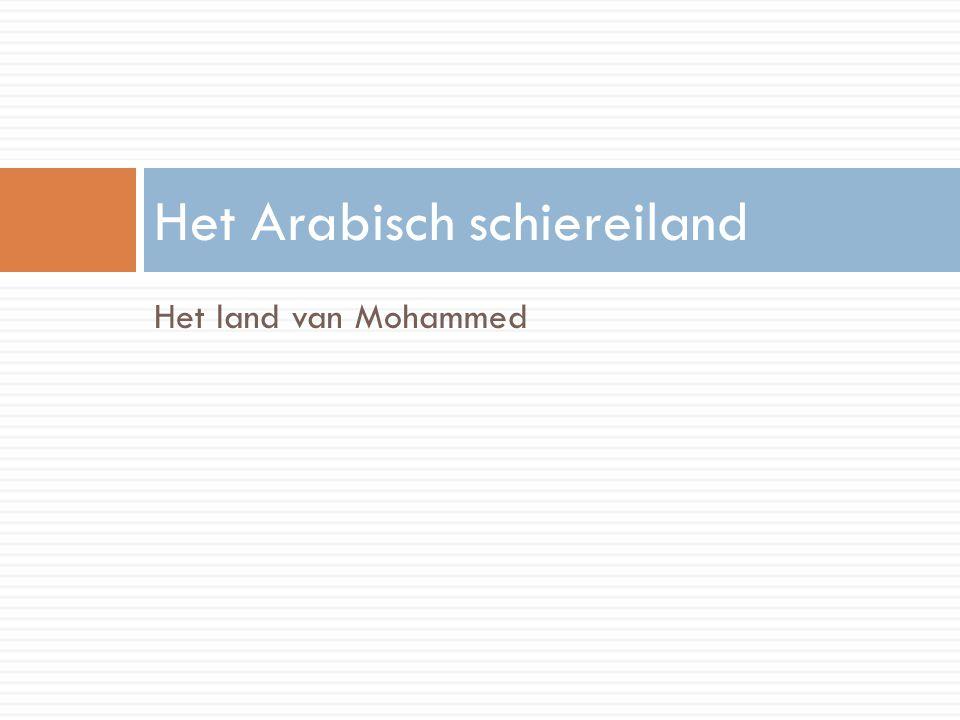 Het Arabisch schiereiland