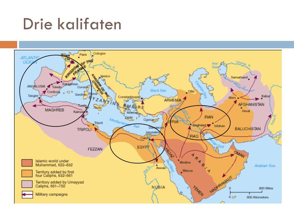 Drie kalifaten