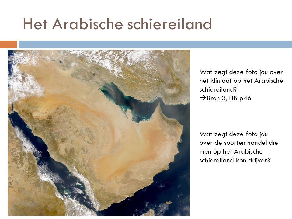Het Arabische schiereiland