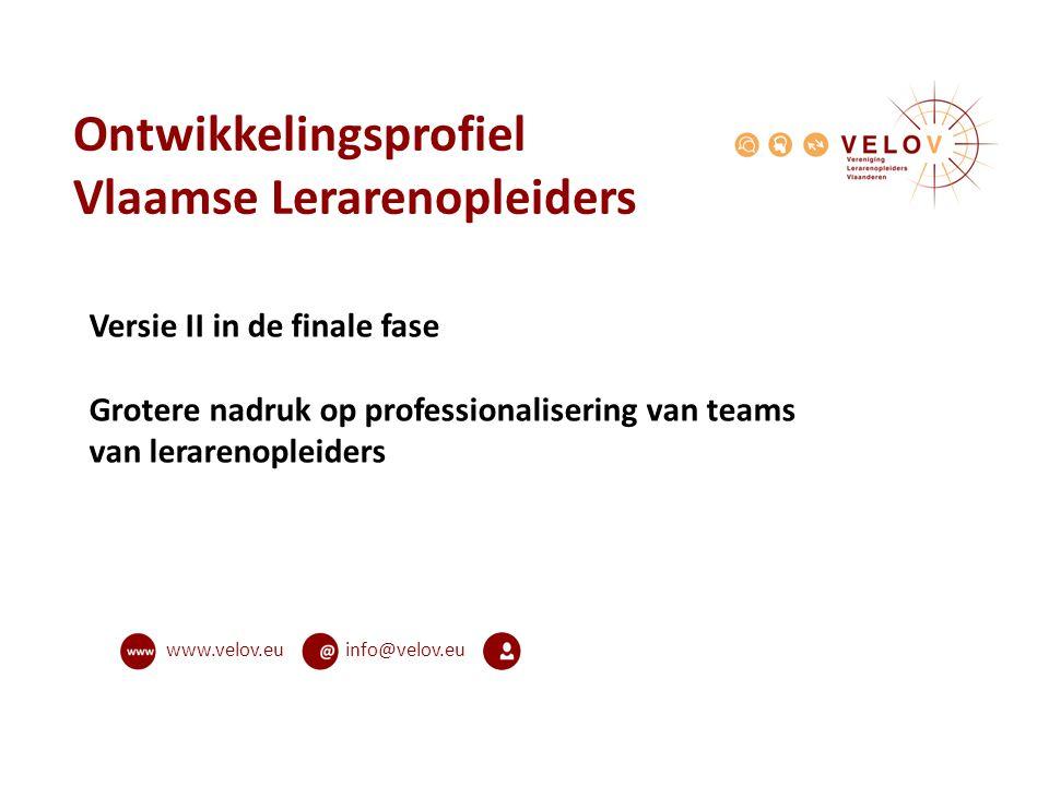 Ontwikkelingsprofiel Vlaamse Lerarenopleiders